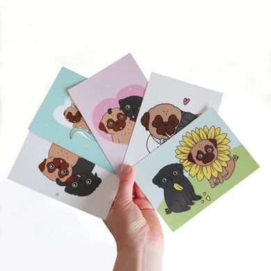 Pick a Pug Card Set - A6