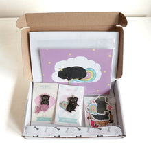 Gift Box Crazy Pug Lady - Black