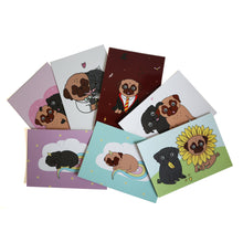 Gift Box Crazy Pug Lady PLUS - Fawn & Black