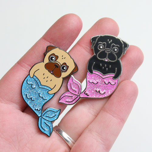 Pin Set - Merpugs