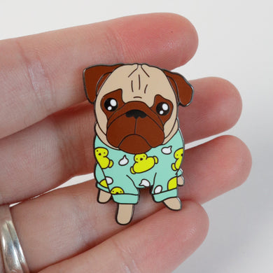 SALE - Loulou the pug Pin