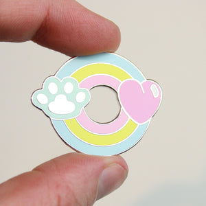 Rainbow Pet Pin