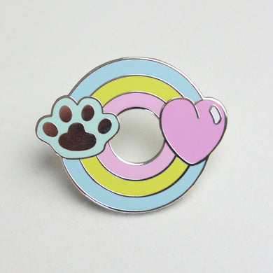 SALE - Rainbow Pet Pin