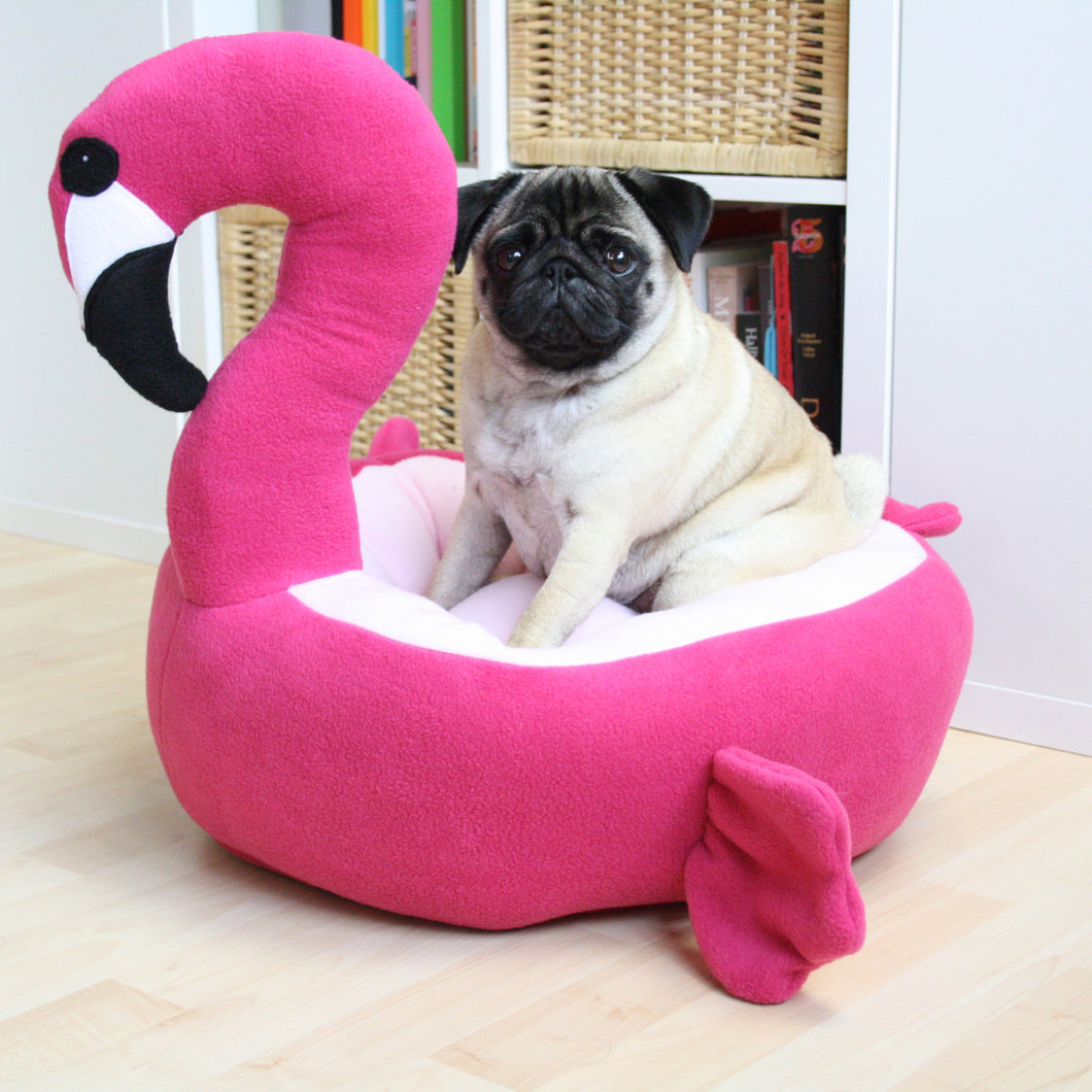 Small Flamingo Pet Bed