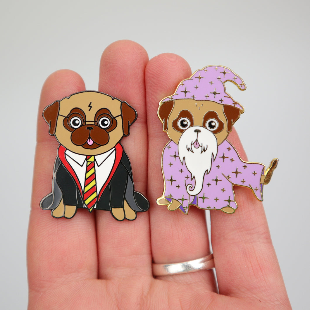 Pin Set - Wizards