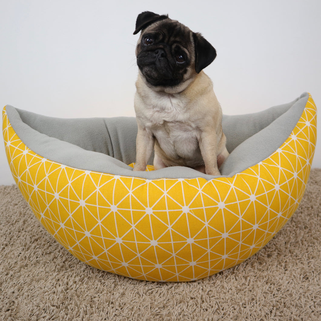Yellow pattern - Boat Bed