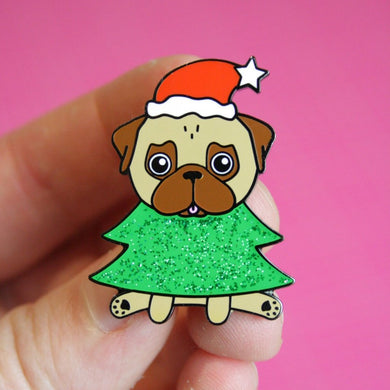 SALE - Christmas Pin Fawn