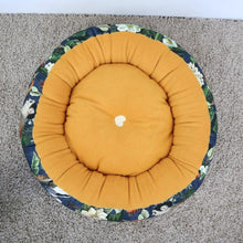 Monkey/Bird Fabric - Round Bed
