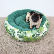 Monstera Fabric - Round Bed