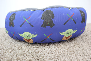 Starpug Black, Special Edition Fabric - Round Bed