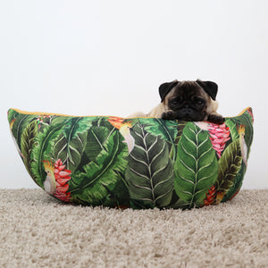 Jungle birds Fabric - Boat Bed
