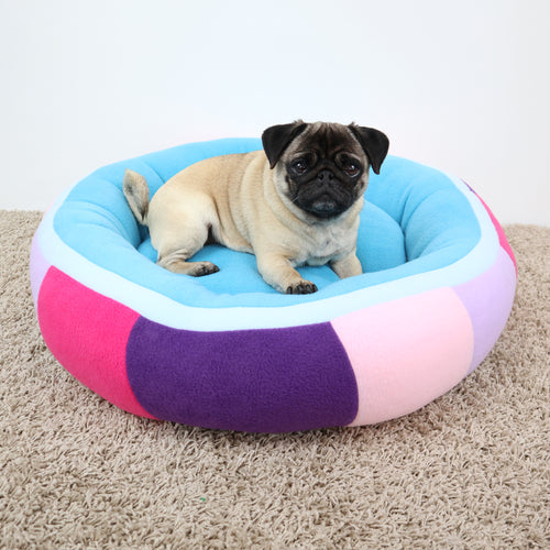 Multicolored - Round Bed