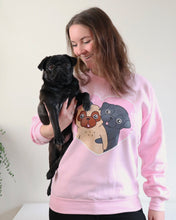 Pink Pug Sweater, Limited Edition