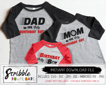 car cars svg birthday boy bundle mom dad matching svg dxf silhouette cricut vinyl cut file clipart matching popular best seller bday boy cars theme shirts DIY last minute fast popular best seller bundle SVG free commercial use sublimation art