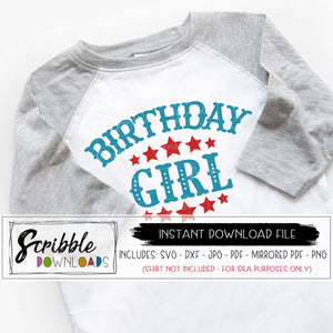 birthday girl circus SVG Digital download printable iron on transfer shirt Bday girl carnival zoo animals ringmaster cute popular SVG DXF PDF PNG JPG Cricut silhouette vinyl cut file easy fast safe secure scribble downloads circus theme party