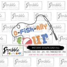4 fish swim SVG ofishally o-fish-ally SVG DXF PDF PNG four 4th fourth 4 year old birthday fish swim party SVG Digital download Vinyl Cut File Silhouette Cricut SVG printable iron on transfer shirt fast easy last minute free commercial use boy girl kids
