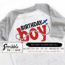 birthday boy airplane theme SVG Vinyl cut file silhouette cricut design space SVG DXF PDF PNG JPG Mirrored PDF printable iron on transfer vinyl DIY shirt craft plane pilot airplane boys kids bday boy cute popular trendy free commercial use