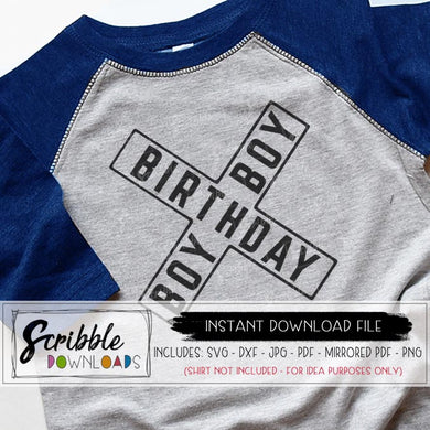 birthday boy railroad train SVG DXF PDF PNG JPG Cricut Silhouette cut file compatible craft heat transfer vinyl PDF iron on transfer shirt DIY printable digital download sublimation graphic
