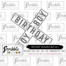 railroad trains Birthday Boy SVG DXF PDF PNG JPG graphic clipart party train theme Cricut Silhouette cut file cute popular sublimation iron on transfer shirt graphic DIY