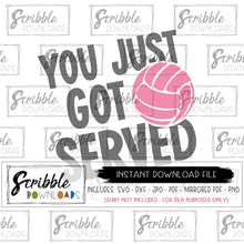 volleyball team graphic logo vector clipart cute popular easy to use print at home printable digital download instant access emailed to you ace team hustle hit volleyball svg dxf pdf scrapbook volleyball mom