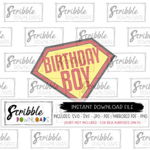 Birthday boy svg superhero bday printable iron on shirt comics svg bday boy heroes svg clipart kids vinyl cut file cricut silhouette digital SVG DXF PDF PNG JPG MIRRORED PDF bday boy 1 2 3 4 5 6 7 8 9 10 year old birthday shirt DIY clipart cute popular best seller comics superhero