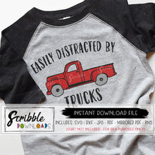 truck svg dxf vector old fashioned sketch chevy truck antique little boy easily distracted by trucks clipart image iron on transfer for shirt cricut or silhouette cut file vinyl heat transfer
