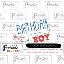 paper airplane clipart birthday boy SVG Cricut Silhouette craft project vinyl cut file printable iron on transfer shirt DIY digital download free commercial use plane airplane theme pilot boy boys party baby trendy last minute bday shirt