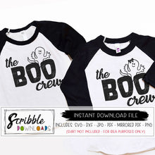 Boo crew svg boy girl Halloween svg popular digital GHOST svg vinyl cut file iron on shirt craft cricut silhouette girl matching sibling cousin twins matching sibling cousin friends popular best seller halloween holiday costume cute