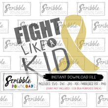 CANCER KIDS AWARENESS SVG DXF VECTOR GRAPHIC go gold kids boy girl youth support DIY iron on transfer shirt with PDF Cricut Silhouette Cut file HTV heat transfer vinyl sublimation gold ribbon kids cancer popular free commercial use
