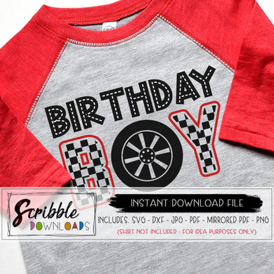 cars birthday boy SVG DIY shirt vinyl cut file silhouette cricut car racecar racing race car cars flag road bday boy 1 2 3 4 5 6 7 8 9 10 kids boy boys kid toddler birthday boy cute popular trendy free commercial use SVG DXF PDF PNG JPG mirrored PDF craft design space silhouette studio art clipart