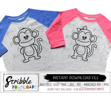 monkeys circus clipart vector svg dxf cut file silhouette cricut boy girl monkey cute popular svg dxf cameo design space iron on transfer digital download printable cute boys girls clipart carnival animal zoo party birthday twin twins