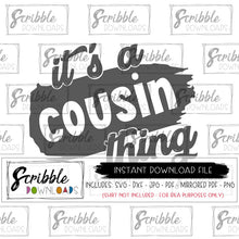 Cousins SVG DXF PDF PNG JPG Vinyl Cut file Silhouette Cricut Cousin family reunion digital download clipart artwork digital download printable iron on transfer shirt graphic DIY craft matching kids youth adult boy girl gender easy fast cute popular cousin SVG
