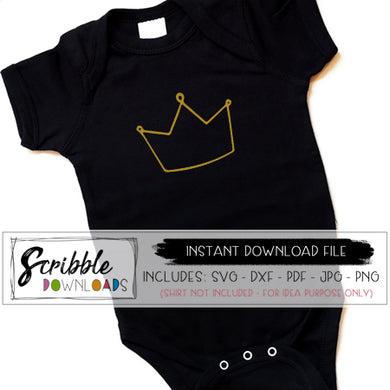 crown SVG DXF PDF PNG JPG cut file crown princess king queen cricut silhouette craft cut file free digital download instant cute easy simple girly boy toddler baby new baby craft project popular trendy crown SVG vinyl craft iron on transfer shirt download DIY