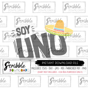 Fiesta 1 bday SVG Cricut Silhouette Vinyl Cut File SVG DXF PDF PNG JPG digital download instant print shirt iron on cute sombrero uno hand drawn maracas popular cute sublimation shirt free commercial use