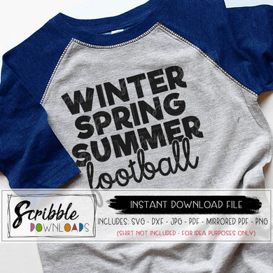 Football Season SVG DXF Humorous Funny cut file silhouette cricut Winter Spring Summer Football vinyl cut file printable PDF iron on transfer for shirt DIY Popular trendy sublimation art