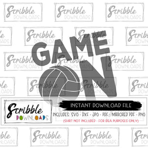 sports volleyball SVG digital download SVG DXF PDF PNG JPG  cricut silhouette vinyl cut file instant printable iron on shirt transfer DIY craft matching cheap team shirts mom mama clipart coach team player sport sports boy girl kids volley volleyball beach game day game on logo fun cute popular best seller free multiple digital download SVG