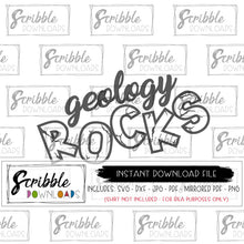 science humor SVG geology rocks SVG DXF PDF PNG JPG digital download Cricut Silhouette Vinyl Cut File geology scientist kids teen student teacher school humorous geek nerd SVG vinyl cut file popular trendy dumb safe secure