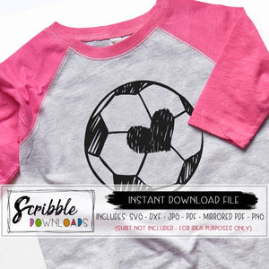 soccer SVG sports soccer mom svg dxf printable Iron On soccer shirt cheer mom svg pdf sideline coach svg hand drawn sketch cricut silhouette vinyl cut file love sports SVG DXF PDF PNG JPG Printable iron on transfer soccer digital download cute popular heart love girl kids sports