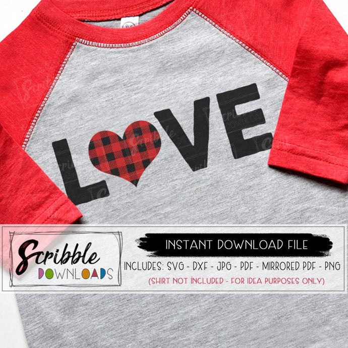 love plaid SVG buffalo plaid heart layered SVG DXF easy cut silhouette cricut cuts a lot file. Digital download instant shirt print at home iron on transfer clipart. boy girl kids cute popular sublimation PDF