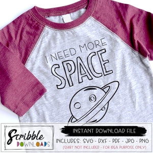 I NEED MORE SPACE SVG VECTOR clipart science outer space school teacher funny humor social distancing in school sun moon stars planets astronomy SVG DXF JPG PNG PDF Mirrored PDF DIY make your own shirt for fun humor I need more space a moment of science. comedy comedian cricut silhouette vinyl cut file popular best seller digital download instant email free shipping free commercial use. scribble download clipart artwork for clothes. all ages.