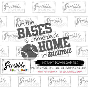 printable instant download svg print yourself at home mirrored PDF easy cute graphic clipart baseball mom fan cheer mama svg dxf pdf softball sports mama cut file vinyl HTV popular sublimation free commercial use