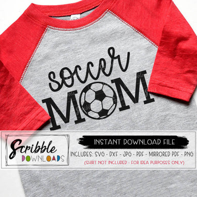 Soccer mom SVG Soccer Ball Svg iron on Game Day shirt svg Game On dxf svg Cricut Silhouette Vinyl Cut File sports soccer mom cheer futbol mom life popular cute free commercial use soccer ball mom mama coach fan player