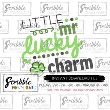 mr lucky charm svg clipart digital download instant iron on transfer printable DIY shirt free limited commercial use cricut silhouette vinyl cut file easy popular boy st patricks lucky green irish