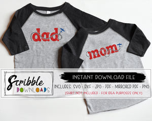 dad mom airplane SVG digital download clipart graphics matching bundle plane party SVG DXF PDF PNG JPG mirrored PDF Cricut Silhouette Vinyl cut file Printable iron on transfer shirt artwork party helper mommy daddy mama dada popular cute matching shirts