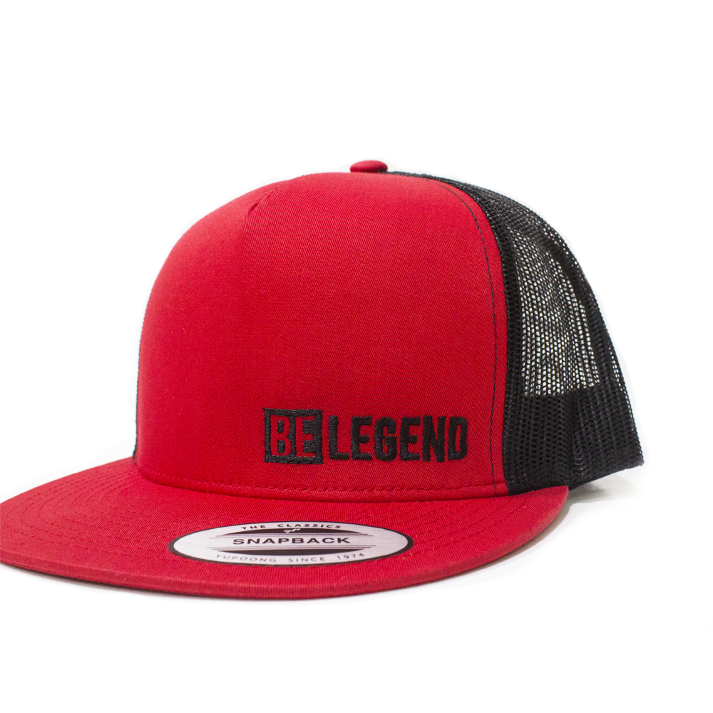 Snapback Trucker – BLGND Red