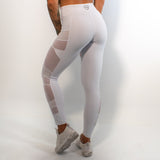Leggings - Panther - White
