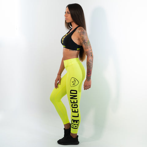 Leggings - Neon - Yellow