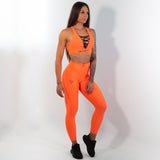 Leggings - Neon - Orange