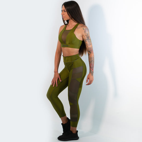 Leggings - Panther - Green