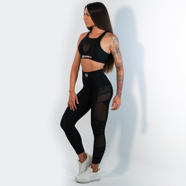 Leggings - Panther - Black